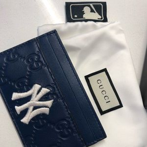 Yankee Gucci Card Holder Wallet